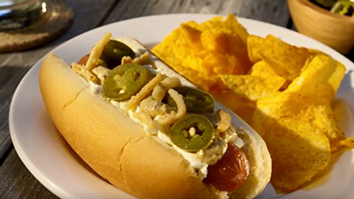 The Jalapeño Popper Dog