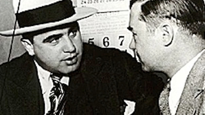 Al Capone at Nathan's Famous Brooklyn
