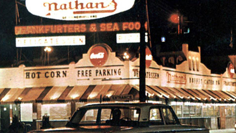 Nathan's famous in Oceanside, NY