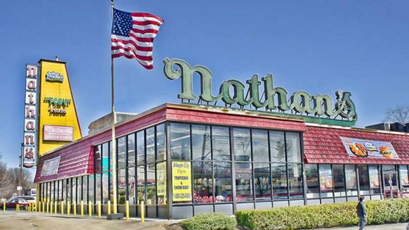 Nathan's Famous in Yonkers
