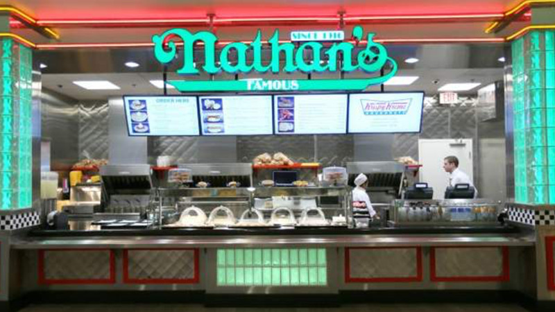 Nathan's famous store