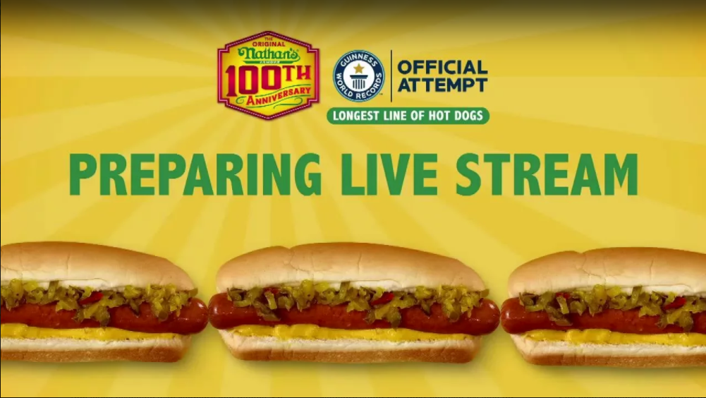 Nathan's Sets a Guinness World Record