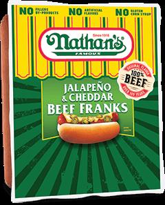 Jalapeño & Cheddar Beef Franks