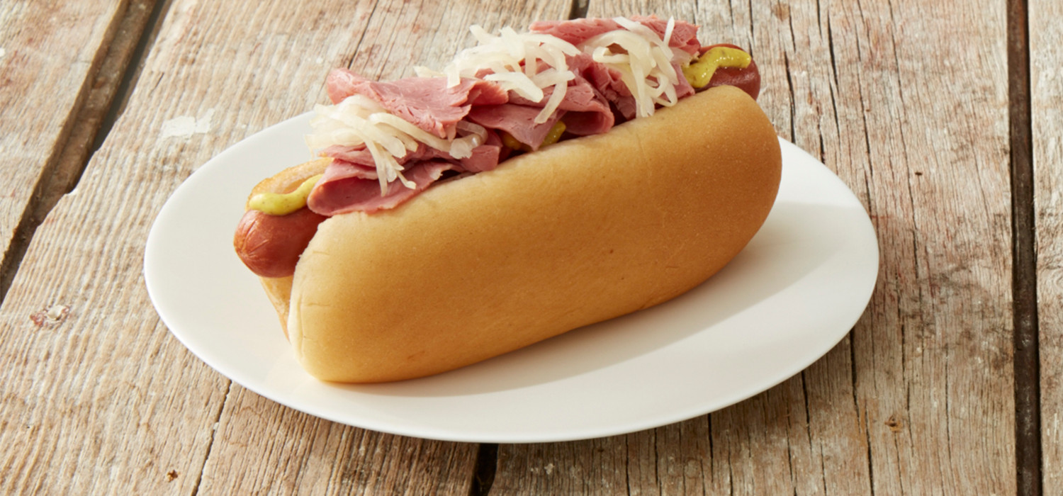 Big Irish Corned Beef Dog