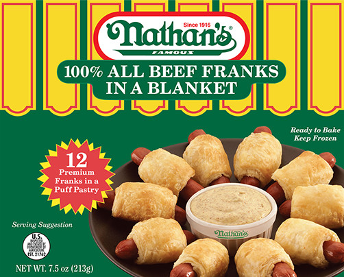 100 All Beef Franks In A Blanket